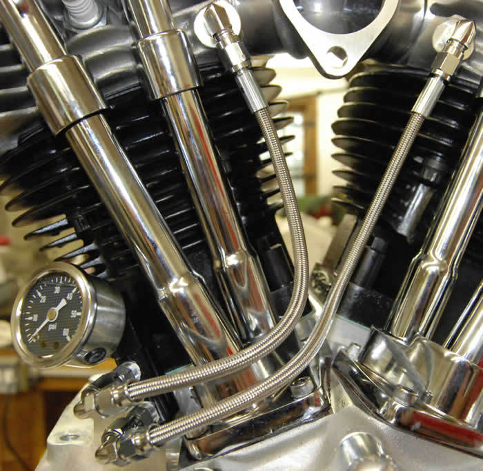 Panhead Oil Line Kit