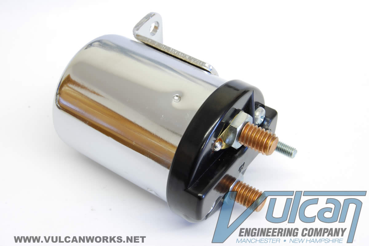 Starter Solenoid, 2 Hole, 1965-84 Big Twin & XL