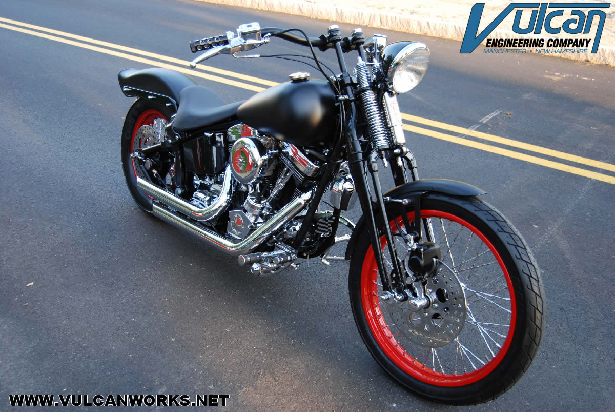 Harley Springer Rake Kit - Triple Trees | Vulcanworks net - American