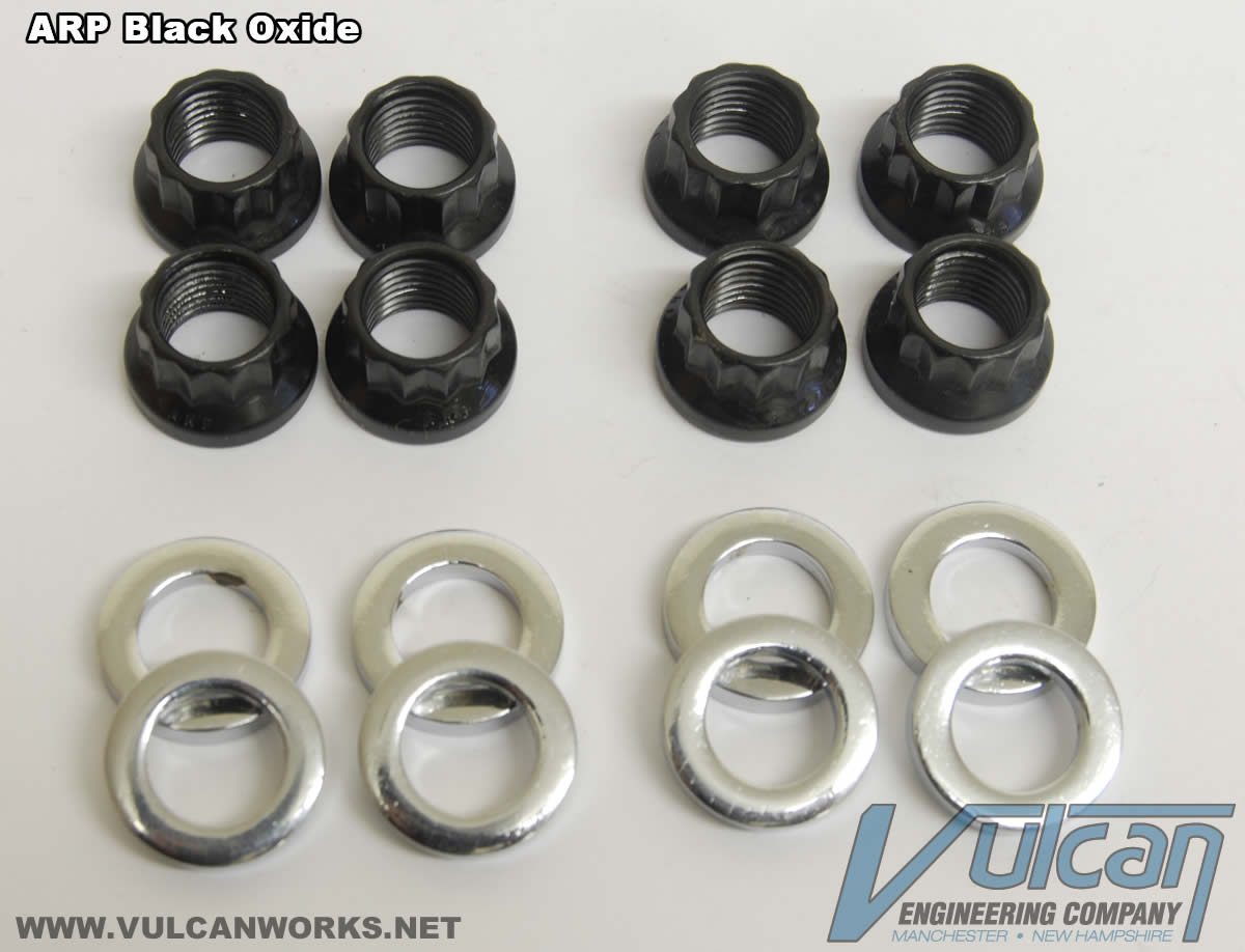 ARP Black Harley Cylinder Base Nuts