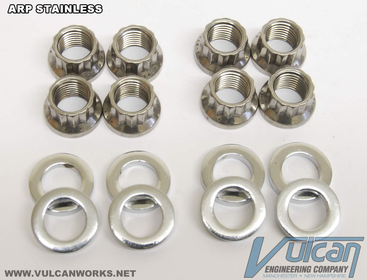 ARP Stainless Harley Cylinder Base Nuts