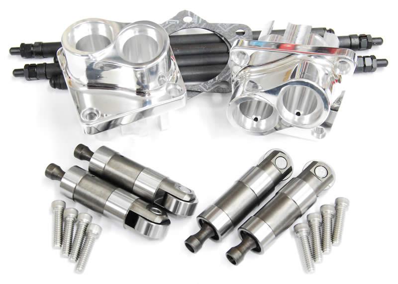 Shovel Motor Parts : Hydraulic lifter block kit for panheads panhead