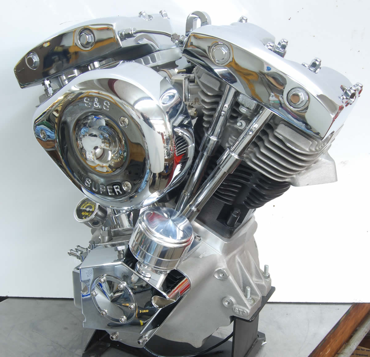 Harley Turbo Shovelhead: 93 Ci. Shovelhead Engine With Distributor