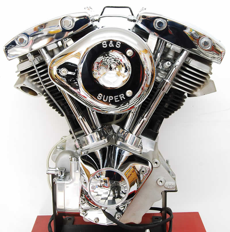 Harley Turbo Shovelhead: 93 Ci. Shovelhead Engine - Engines