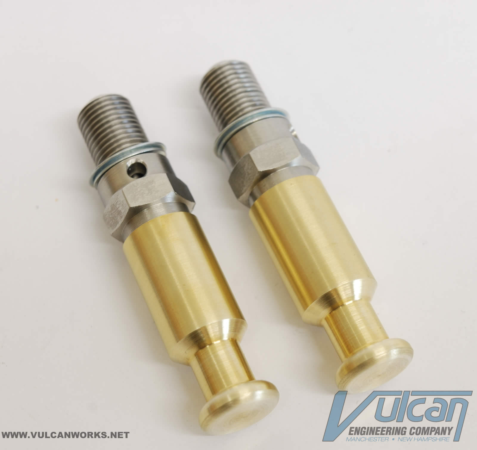 10mm Compression Release Sets- Brass Cap