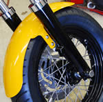 "16"" Front Fender For 41mm FXST/FXDWG Style legs"