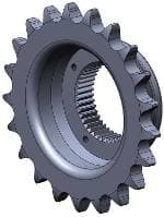 Offset Transmission Sprockets- , Sportster, 21 Tooth