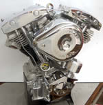 93 Ci. Shovelhead Engine With Distributor